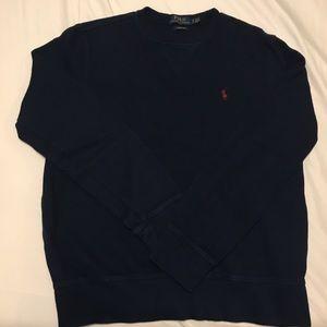 EUC Polo Navy Blue Sweatshirt